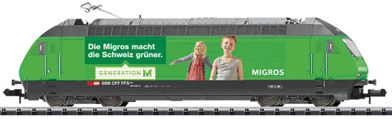 Trix 16763 - Swiss Electric Locomotive Re 460 of the SBB (DCC Sound Decoder)