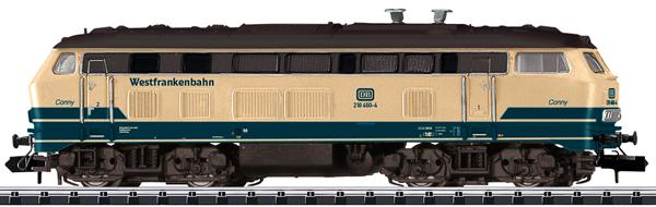 Trix 16821 - German Diesel Locomotive Class 218 CONNY of the DB AG (Sound)