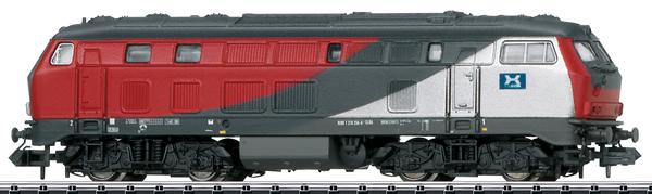 Trix 16822 - German Diesel Locomotive 218 256 of the GKB