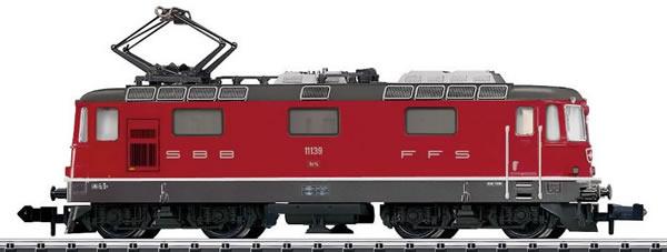 Trix 16882 - Swiss Electric Locomotive class Re 4/4 II of the SBB (DCC Sound Decoder)