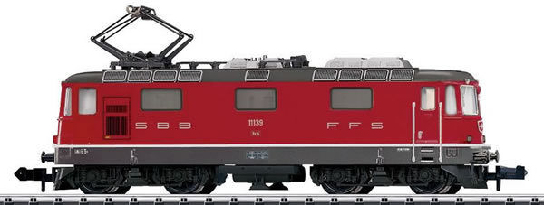 Trix 16882 - Swiss Electric Locomotive class Re 4/4 II of the SBB (DCC Sound Decoder)