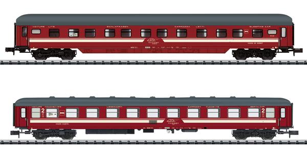 Trix 18254 - EC Venezia Car Set Part 3
