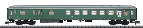 Trix 18404 - German Compartment w/ Baggage Car, 2nd cl of the DB