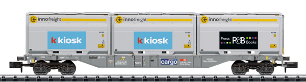 Trix 18405 - Swiss Container Flat Car Sgnss SBB Innofreight of the SBB