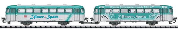 Trix 18903 - German Class VB 996 and VB 998 Trailer Car Set of the DB AG