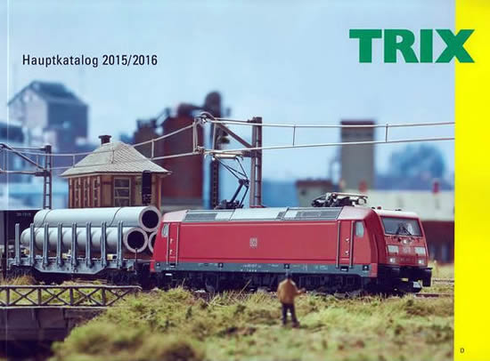 Trix 19800 - Main Catalog for 2015/2016 - German Addition