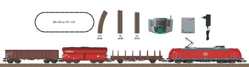 Trix 21527 - German Digital Starter Set BR 185 w. Freight Train