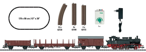 Trix 21530 - German Freight Train Starter Set of the DB