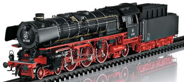 Trix 22035 - Swiss Express Steam Swiss Museum Locomotive w/Tender class 01 202 (DCC Sound Decoder)
