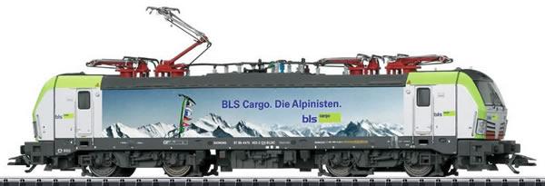 Trix 22095 - Swiss Electric Locomotive class 475 of the BLS Cargo (DCC Sound Decoder)