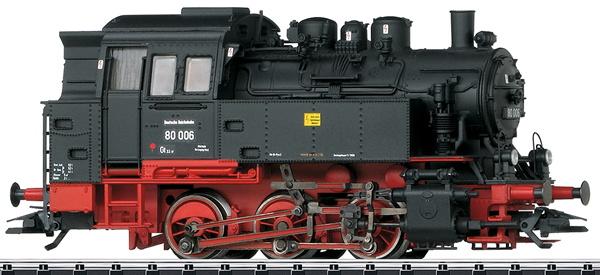 Trix 22113 - German Steam Locomotive BR 80 of the DR