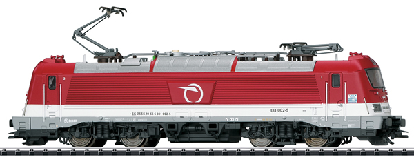 Trix 22186 - Slovakian Electric Locomotive Class 381 of the ZSSK