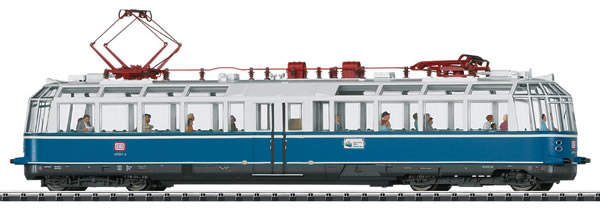 Trix 22193 - German Powered Observation Rail Car Class 491 Glass Train of the DB (DCC Sound Decoder)