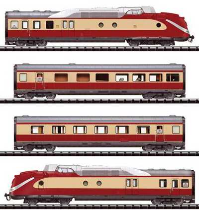 Trix 22202 Gas Turbine Rail Car Train Ex L 05