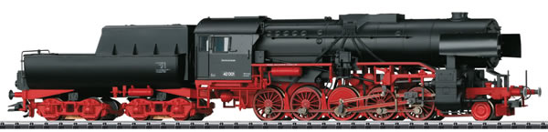 Trix 22226 - German Heavy Steam Freight Locomotive BR 42 w/Tub-Style Tender of the DR (DCC Sound Decoder)