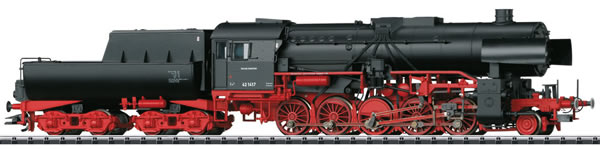 Trix 22227 - German Heavy Steam Freight Locomotive BR 42 with a Tub-Style Tender of the DB