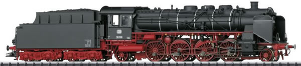 Trix 22240 - German Passenger Steam Locomotive BR 39 of the DB (DCC Sound Decoder)