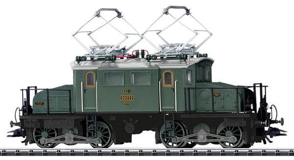 Trix 22269 - Bavarian Electric Locomotive Class EG 2x2/2 (DCC Dound Decoder)