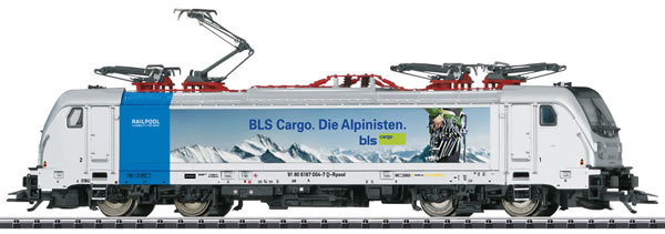 Trix 22279 - Swiss Electric Locomotive Class 187.0 Cargo of the BLS (DCC Sound Decoder)