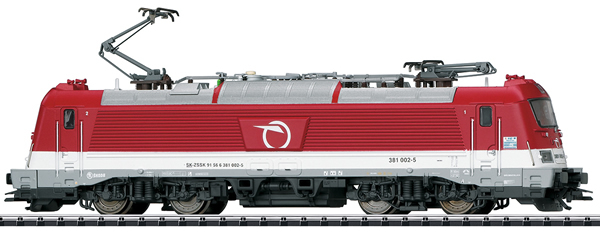 Trix 22287 - Slovakian Electric Locomotive Class 381 of the ZSSK