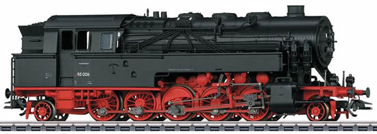 Trix 22295 - German Freight Steam Locomotive BR 95.0 of the DB (DCC Sound Decoder) - INSIDER MODEL