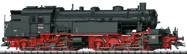 Trix 22326 - German Steam Locomotive Class 96.0 of the DRG (DCC Sound Decoder) -MHI Exclusive