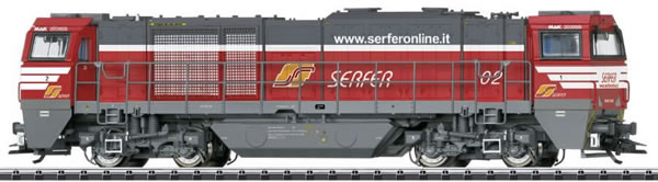 Trix 22343 - Italian Vossloh Diesel Locomotive Cl G 2000 BB (DCC Sound Decoder)