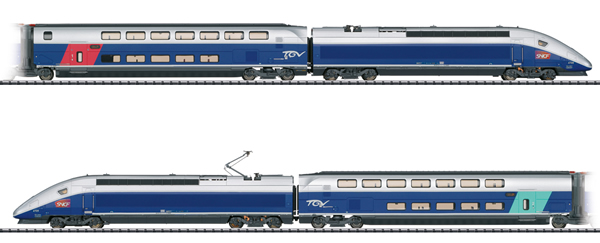 Trix 22381 - French TGV Euroduplex High-Speed Train of the SBCF (DCC Sound Decoder)