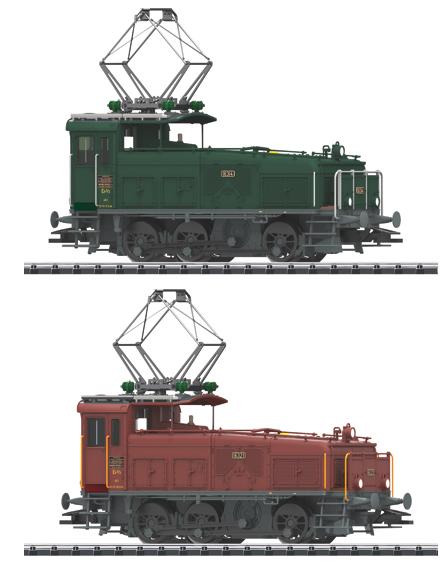 Trix 22390 - Swiss Electric Locomotive Set Ee 3/3 of the SBB
