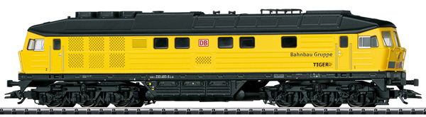 Trix 22402 - German Diesel Locomotive Class 233 Tiger of the DB