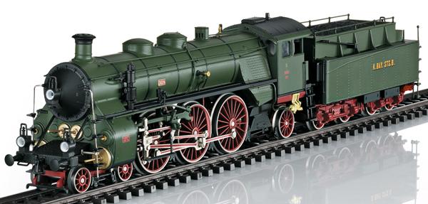 Trix 22403 - Royal Bavarian Steam Locomotive Class S 3/6 Hochhaxige / High Stepper of the K.Bay.St.B