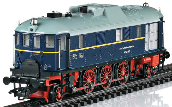 Trix 22404 - German Museum-Diesel Locomotive V 140 001 of the DRG