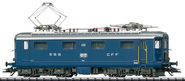 Trix 22422 - Swiss Electric Locomotive Re 4/4 I of the SBB
