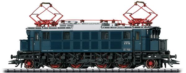 Trix 22496 - German Electric Locomotive E17 of the DB