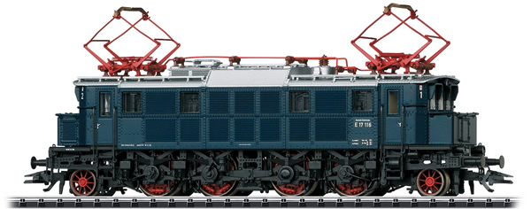 Trix 22496 - German Electric Locomotive E17 of the DB
