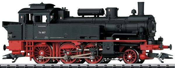Trix 22550 - German Steam Locomotive BR 74 of the DB
