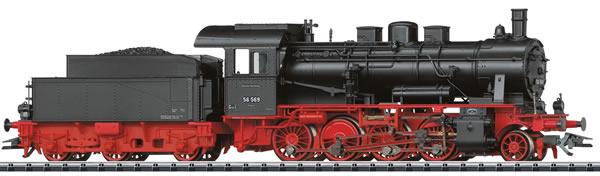 Trix 22562 - German Freight Steam Locomotive series 56.2-8 of the DRG (DCC Sound Decoder)