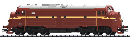 Trix 22671 - Norwegian Diesel Locomotive Class Di3 of the NSB (DCC Sound Decoder)