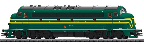 Trix 22672 - Belgian Diesel Locomotive Series 204 of the SNCB (DCC Sound Decoder)