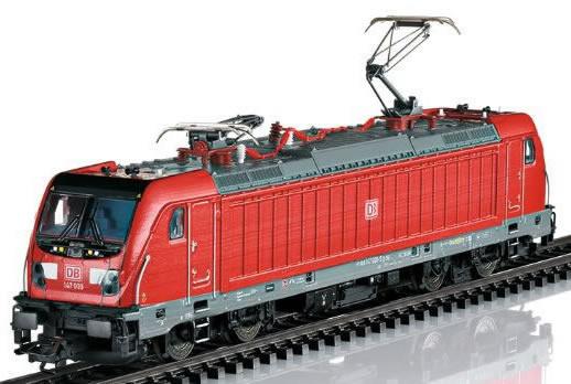 Trix 22689 - German Electric Locomotive BR 147 of the DB AG (DCC Sound Decoder)