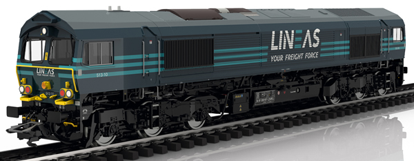 Trix 22693 - Dgtl Diesel Locomotive EMD cl 66, LINEAS,VI