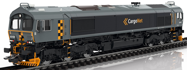 Trix 22694 - Dgtl Diesel Locomotive Class 66, CargoNet, VI