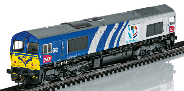 Trix 22696 - Diesel Locomotive Class 66 (DCC Sound Decoder)