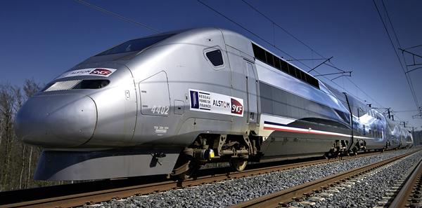 Trix 22790 - French TGV Duplex V 150 High-Speed Train of the SNCF (DCC Sound Decoder)