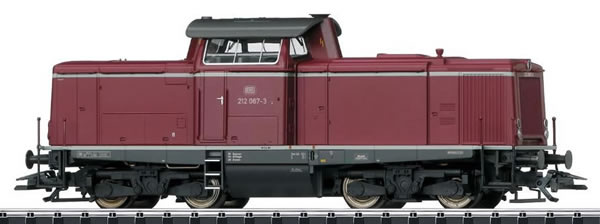 Trix 22826 - German Diesel Locomotive BR 212 of the DB (DCC Sound Decoder)