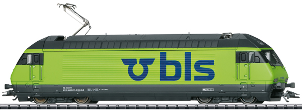 Trix 22830 - Swiss Electric Locomotive Class 465 of the BLS (DCC Sound Decoder)