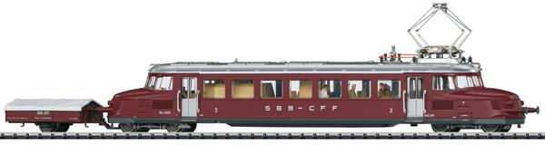 Trix 22867 - Swiss Powered Rail Car Class RCe 2/4 Roter Pfeil of the SBB