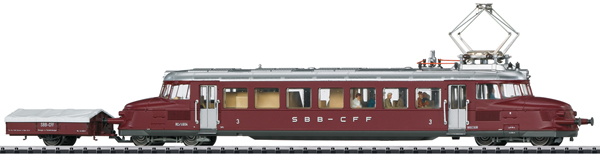 Trix 22867 - Swiss Powered Rail Car Class RCe 2/4 Roter Pfeil of the SBB