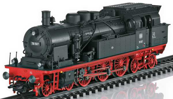 Trix 22877 - German Steam Locomotive Class 78 (DCC Sound Decoder)