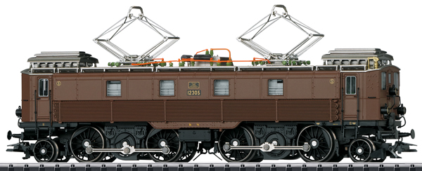 Trix 22899 - Swiss Electric Locomotive Series Be 4/6 of the SBB